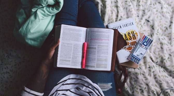 Activist Studying